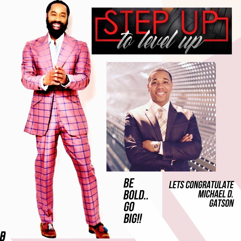 Dr. Gatson working to overcome the stigma of mental health on Step Up to Level Up.